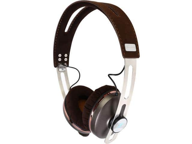 Sennheiser Momentum 2.0 On-Ear Headphones for IOS - Brown @Newegg $69.96