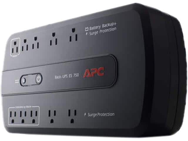 APC Back-UPS 750, Uninterruptible Power Supply *RFB* @Newegg