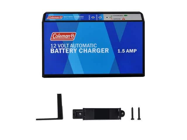 Coleman 12-Volt, 1.5 Amp Automatic Battery Charger 60131 @Newegg $14.99 (or 13.49 @Amazon w/Prime)