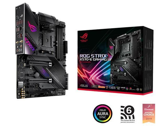 ASUS ROG Strix X570-E Gaming AM4 Motherboard @Newegg $269.99