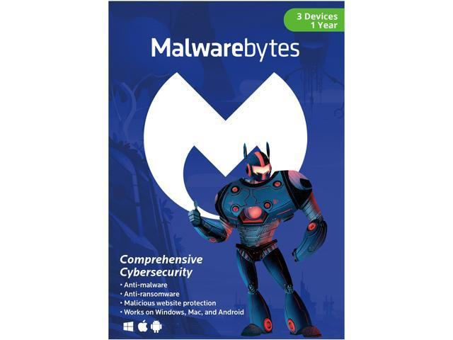 Malwarebytes Anti-Malware 3.0 - 3 Devices, Key Card @Newegg $24.99