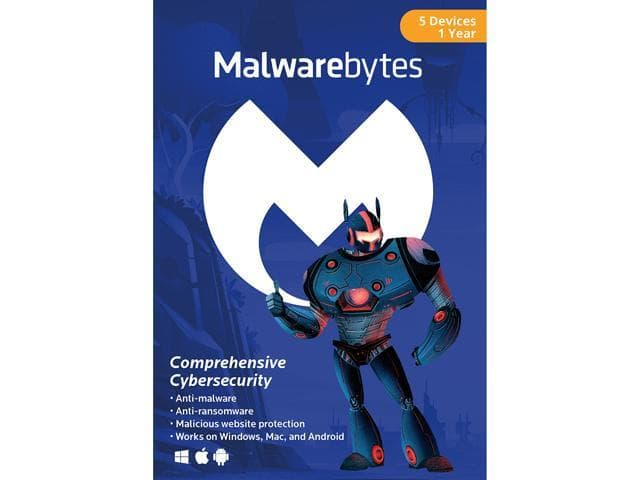 Malwarebytes Anti-Malware Premium 3.0 - 5 Devices / 1 Year [Download] @Newegg $24.99