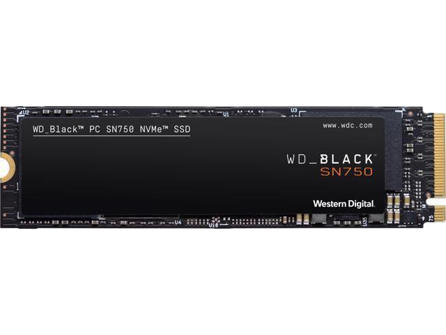 1TB  Western Digital WD BLACK SN750 NVMe SSD @Newegg $134.99
