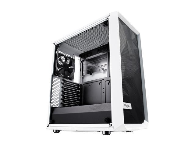 Fractal Design Meshify C White Steel Tempered Glass Mid Tower Case @Newegg - $79.99