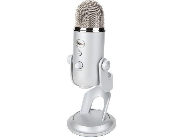 Blue Microphones Yeti 1141 Silver USB Mic+PodCaster Bundle @Newegg $102