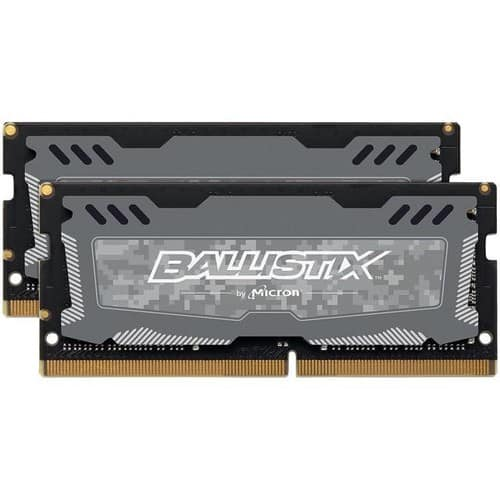10% off Crucial Memory, 32GB (2x 16) DDR4 2400 Gaming Laptop Memory @Newegg $99