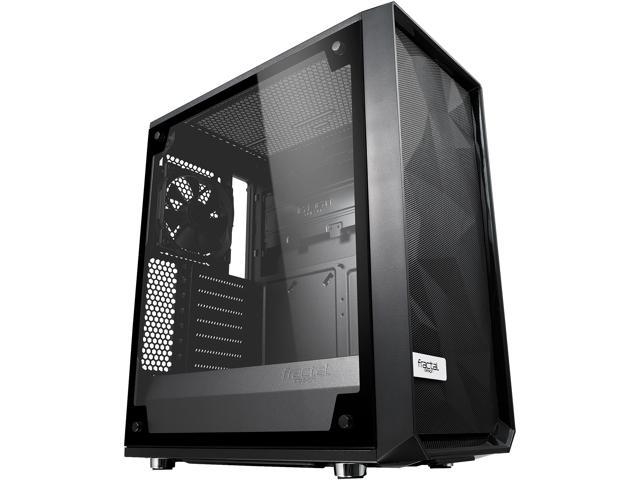 Fractal Design Meshify C Black High-Airflow Compact Light Tint Tempered Glass Mid Tower Case @Newegg $79.99