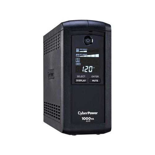 CyberPower Intelligent LCD 1000VA 600W AVR Mini UPS @Newegg $80