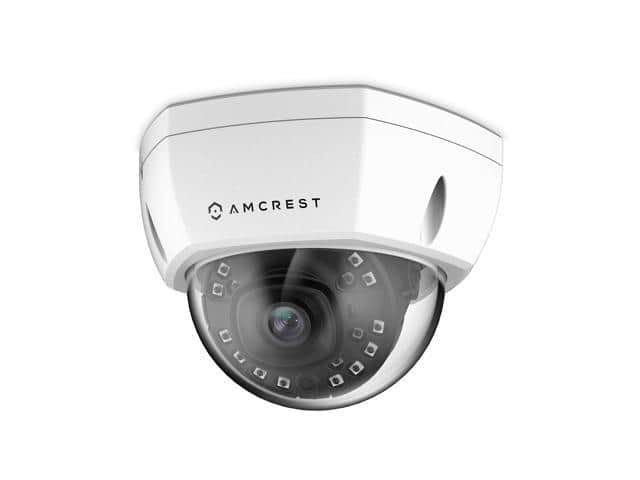 Amcrest 1080P Outdoor PoE Dome Camera, Night Vision IP2M-851EW @Newegg $36