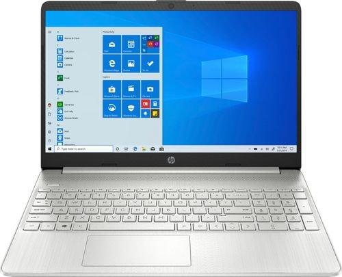 "HP - 15.6"" Touch-Screen Laptop - AMD Ryzen 5 - 12GB Memory - 256GB SSD - Natural Silver @BestBuy $450"