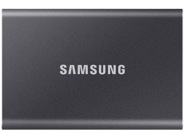 500GB Samsung T7 Touch External MU-PC SSD @Newegg $109.99