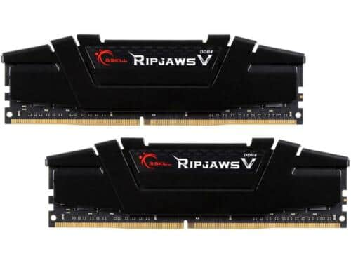 32GB (2x 16) G.SKILL Ripjaws V Series DDR4 3200 Desktop Memory $120 @Newegg (via eBay);  (also DDR4 3600 CL 16 / $150)
