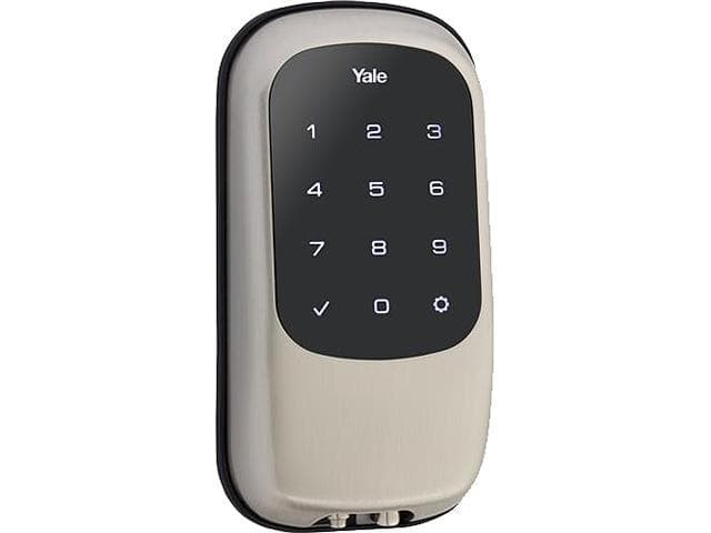 Yale Locks Touchscreen Deadbolt T1L with Z-Wave (Daily Steals via Newegg) $105