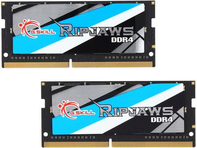 32GB (2x 16) G.SKILL Ripjaws DDR4 2400 SO-DIMM Laptop RAM kit @Newegg $110