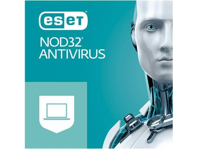 ESET NOD32 Antivirus 2019, 5 PCs (Download) @Newegg $21