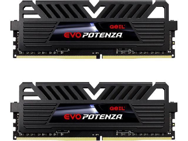 16GB (2x 8) GeIL EVO POTENZA DDR4 3200 Desktop RAM Kit $60