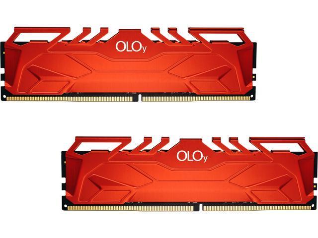 32GB (2x16GB) OLOy DDR4 3600 SDRAM Desktop Memory Kit @Newegg $127