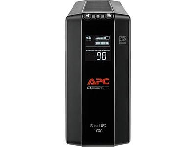 APC Back-UPS Pro 1000 VA UPS, 8-Outlets, Black (BX1000M-LM60) @Staples $90 or less