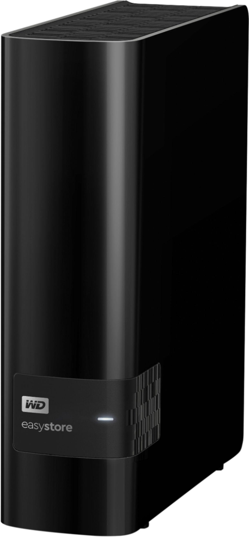 WD - Easystore 10TB External USB 3.0 Hard Drive - Black $169.99
