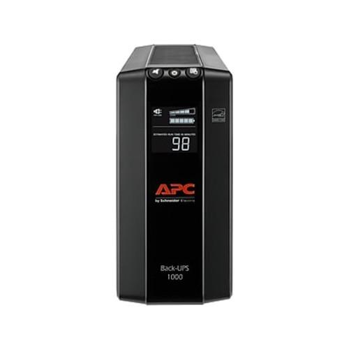 APC Back-UPS Pro 1000 VA UPS, 8-Outlets, Black (BX1000M-LM60) @Staples $85