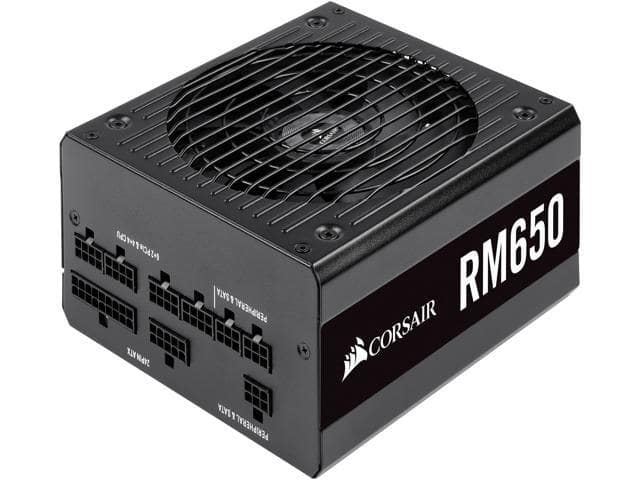 CORSAIR RM Series RM650 650W 80PLUS GOLD Modular Power Supply @Newegg (via eBay) $115