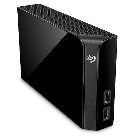 Seagate 10TB Backup Plus Desktop Drive with USB Hub (STEL10000400X) $155