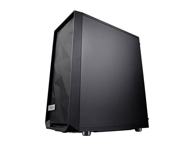 Fractal Design Meshify C Black High-Airflow Compact Dark Tint Tempered Glass Mid Tower Case @Newegg $89