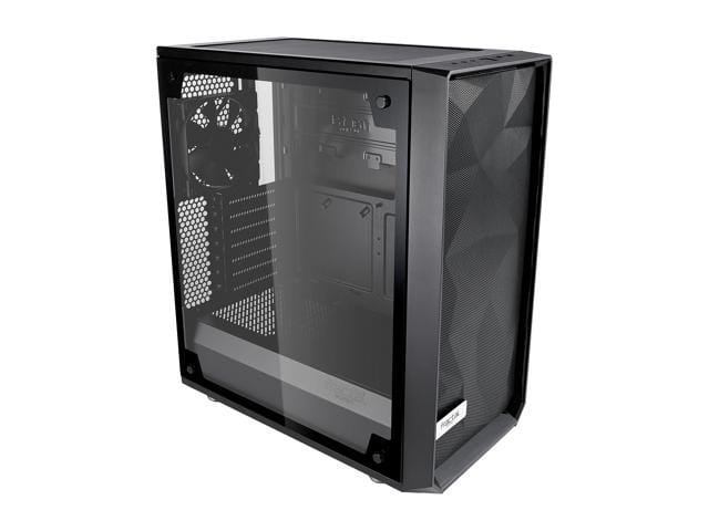 Fractal Design Meshify C ATX High-Airflow Compact Light Tint Tempered Glass Mid Tower Case @Newegg $88