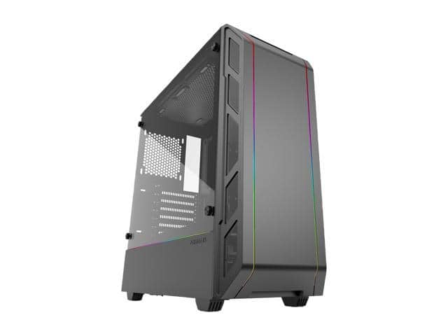Phanteks Eclipse P350X Black Steel/Tempered Glass RGB EATX Mid Tower Case $59.99 /FS Now
