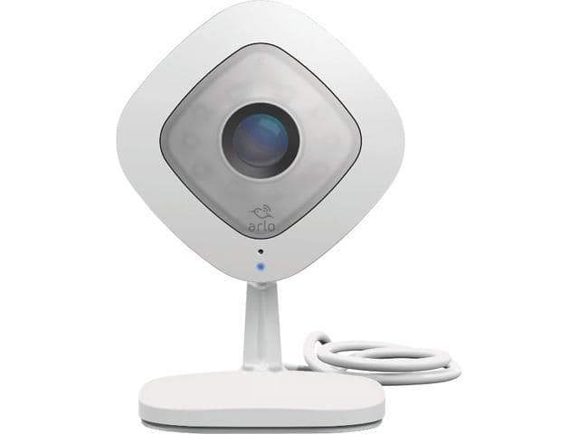 Arlo Q - 1080p HD Wi-Fi Security Camera with 2 Way Audio with Free Arlo Basic 7-Day Cloud Storage Recording $87.99