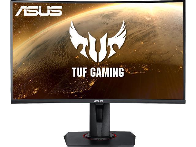 "27"" TUF GAMING VG27WQ WQHD 1ms (MPRT) 165Hz HDR400 Curved Gaming Monitor VA @Newegg $366"