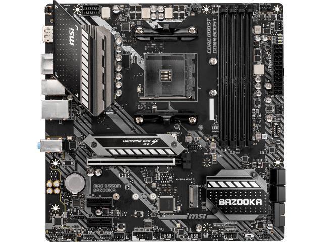 MSI MAG B550M BAZOOKA AM4 mATX Motherboard @Newegg $115