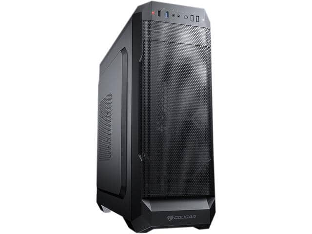 COUGAR MX331 Mesh-X Black Mid-Tower Case $40