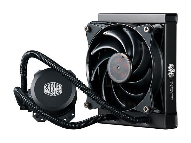 Cooler Master MasterLiquid Lite 120 AIO CPU Liquid Cooler $45 AR @Newegg  ML120L V2 RGB / $55 AR