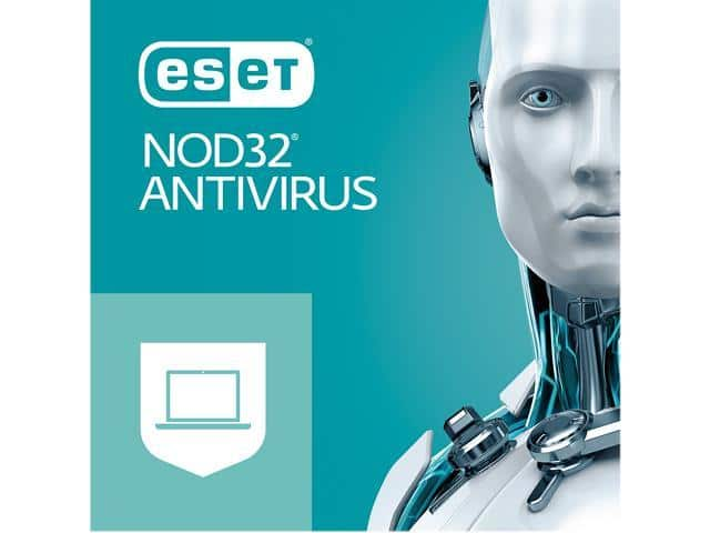ESET NOD32 Antivirus Software (3-Devices Download) @Newegg $16