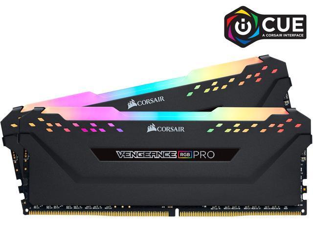 32GB (2x 16) Corsair Vengeance RGB PRO DDR4 3200 Desktop RAM Kit $126