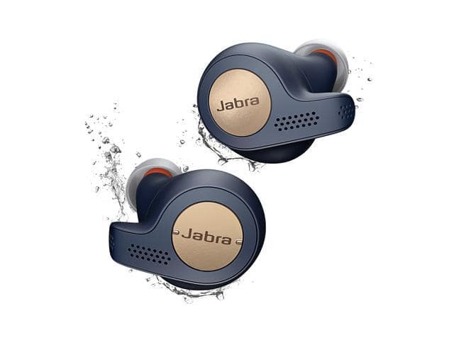 Jabra Elite Active 65t True Wireless Earbuds Copper Blue w/ Charging Case *RFB* @Newegg $40