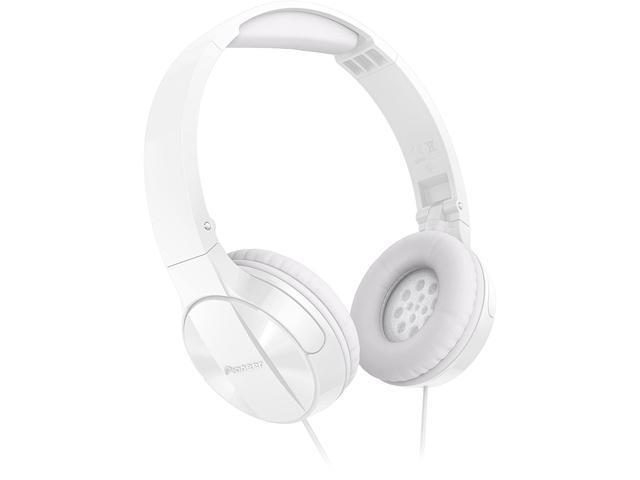 Pioneer SEMJ503W Enclosed Dynamic Foldable Headphones - White @newegg $11