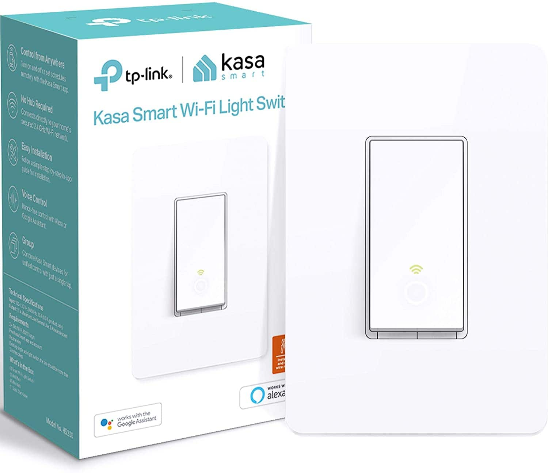 Kasa Smart Light Switch by TP-Link, HS200 @Amazon $15