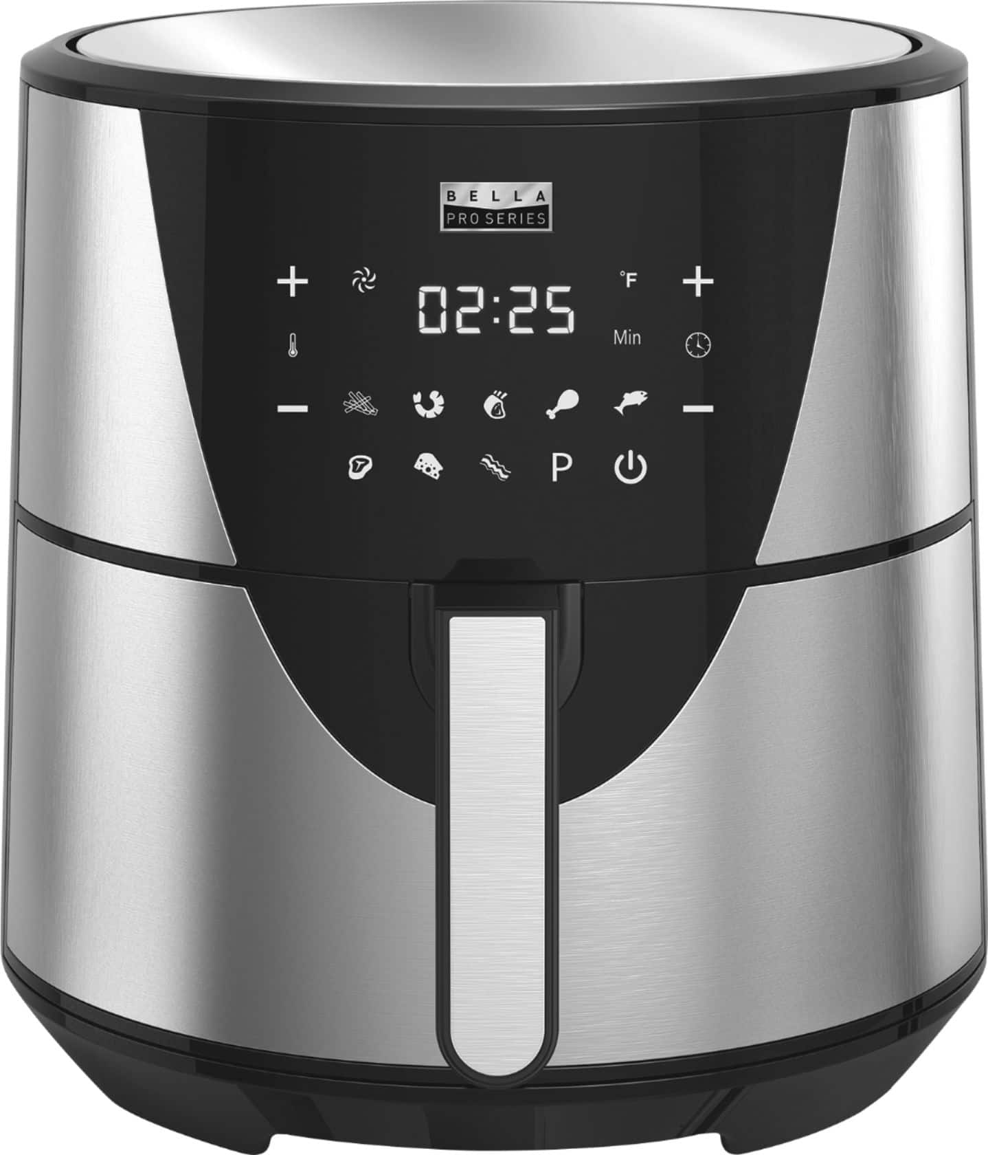 8-Quart Bella Pro Series Touchscreen Air Fryer (Stainless Steel) @BestBuy $60