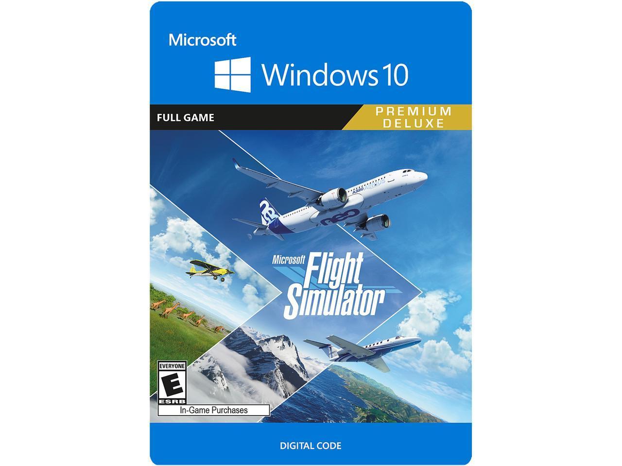 Microsoft Flight Simulator: Premium Deluxe Edition Windows 10  [Digital Code] $104