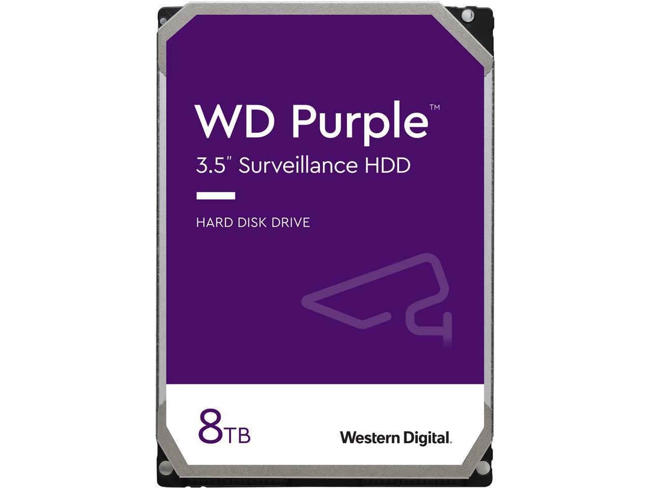 8TB WD Purple WD82PURZ 7200RPM Surveillance Drive @Newegg $195