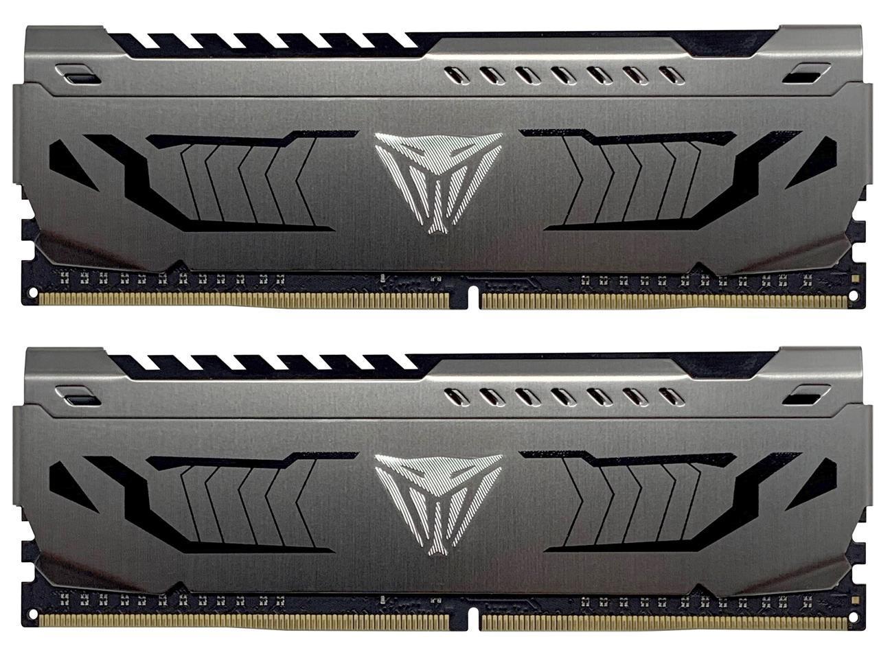 16GB (2x 8) Patriot Viper Steel DDR4 4400 Desktop RAM kit @Newegg $115