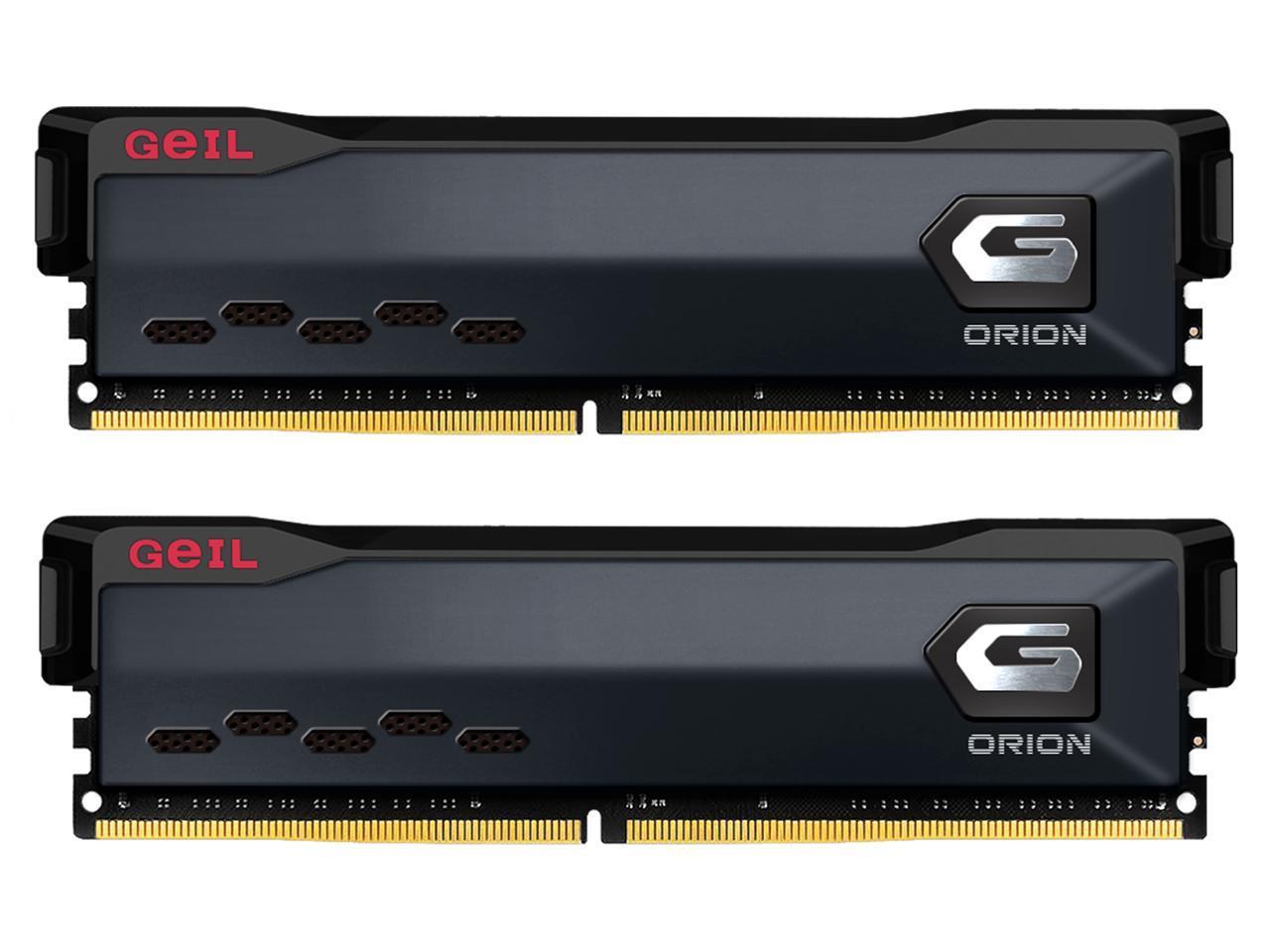 GeIL ORION AMD Edition 32GB (2x 16) DDR4 3000 Desktop RAM @Newegg $88
