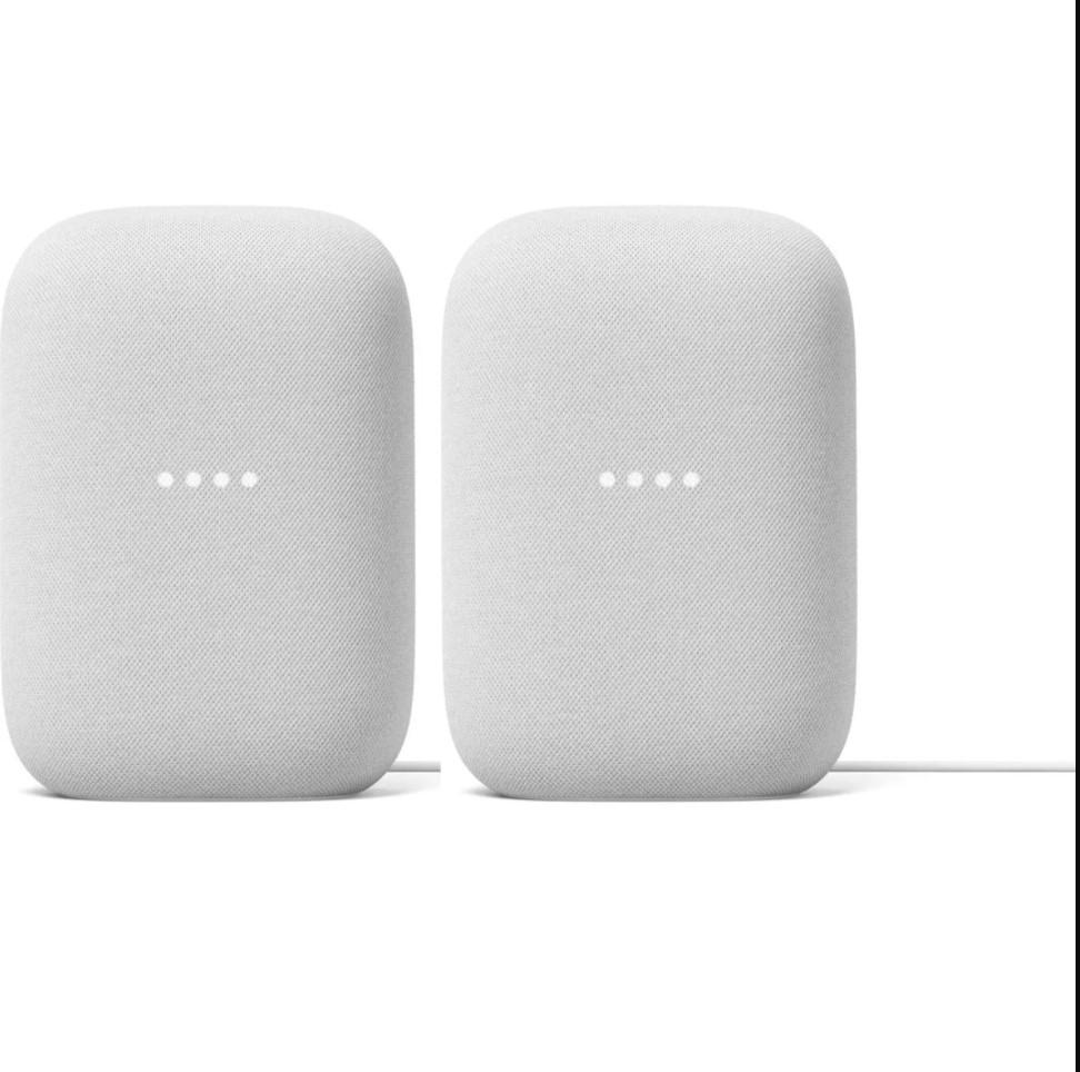 Google Nest Audio Chalk (2 Pack) $129.88