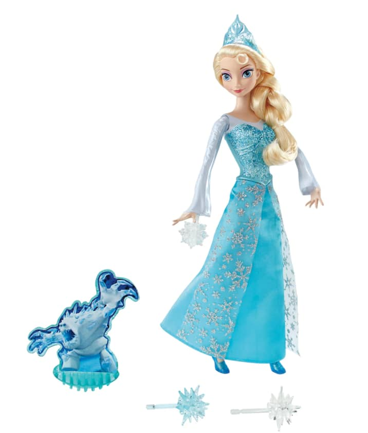 Kohls Charge - Today Only - Disney's Frozen Ice Power Elsa Doll AND Frozen Fever Elsa Costume for $12.79 + tax