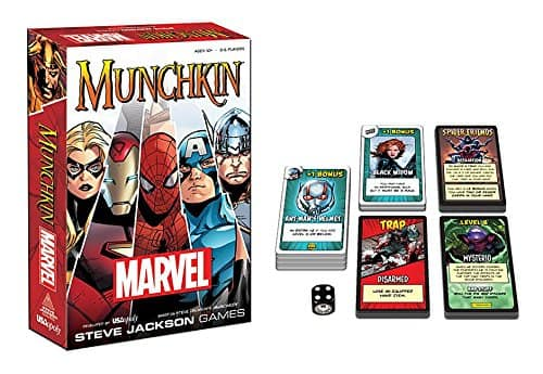 Munchkin Marvel Edition - $14.30 @ Amazon w/ free Prime shipping