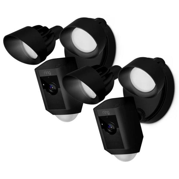 Ring Floodlight Camera White / Black (2-Pack) and more $348 (between $162 - $174 each)