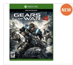 Gears of War 4 for $59.99 with $25 Dell Promo eGift and free next business day (Dell Advantage Members)