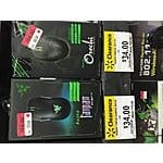 Razer Mouse Taipan and Orochi 2013 edition $34.00 each @walmart (YMMV)